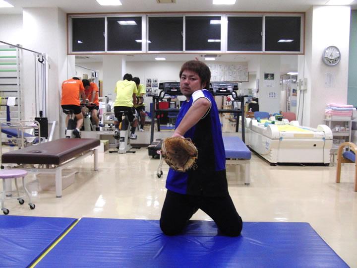腕の振りを作る練習 その1