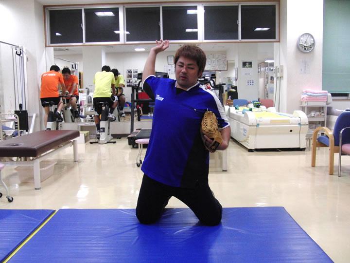 腕の振りを作る練習 その2