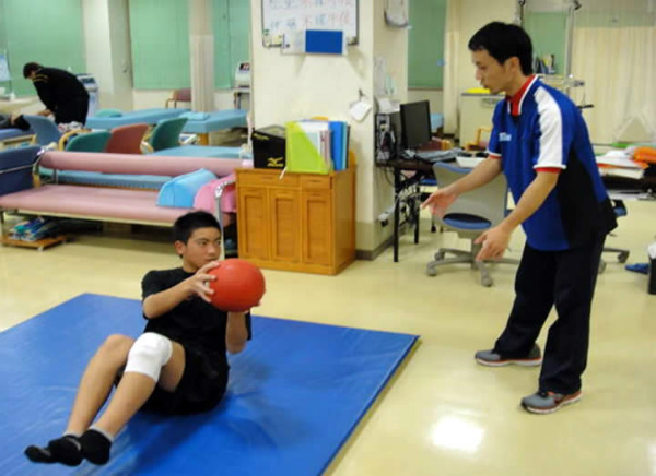 体幹トレーニングMB