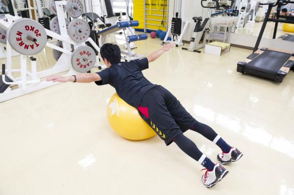 体幹回旋トレーニング2